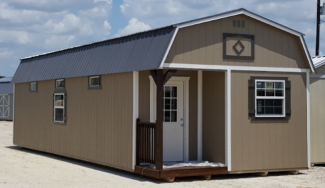 Wolfvalley Buildings Storage Shed Blog : 14x40 Lofted Cabin - Cabins