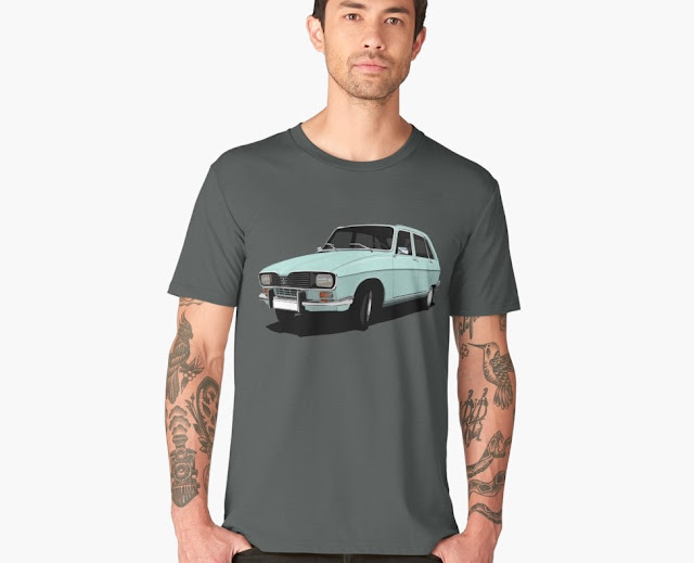 Renault R16 T-shirt - seventies car