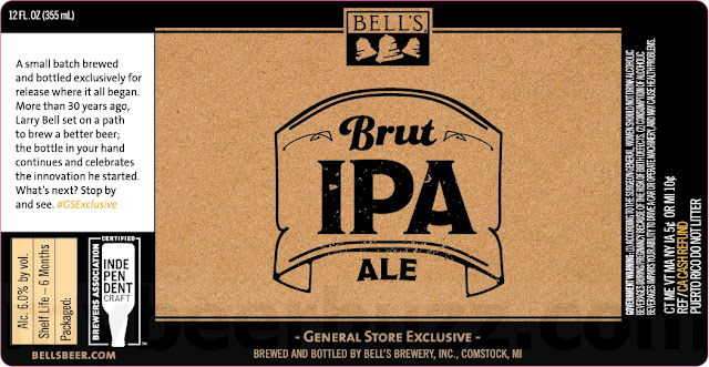 Bell's Brut IPA Ale Coming As General Store Exclusive