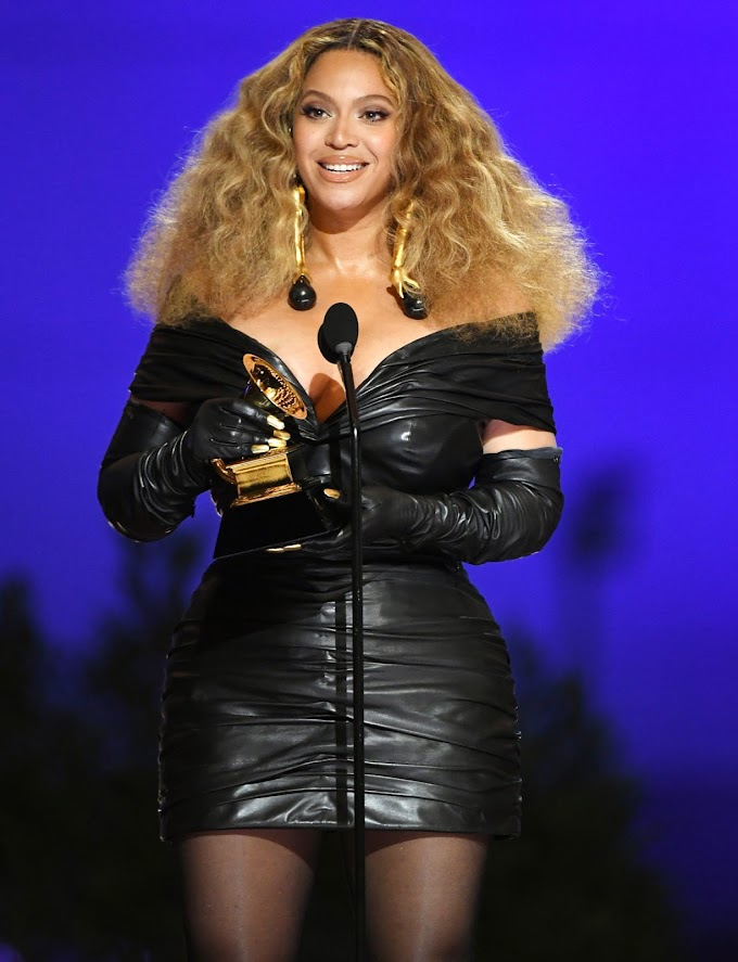 Beyoncé makes history with 28th Grammy win, becomes the most-decorated female artist of all time