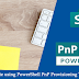 How to Copy a Site using PowerShell PnP Provioning Template in SharePoint Online?