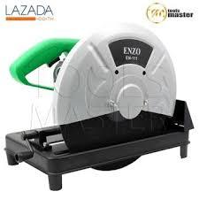 ENZO แท่นตัดไฟเบอร์ เครื่องตัดไฟเบอร์ 14 นิ้ว พร้อมใบไฟเบอร์ รุ่นท๊อป 2,200 วัตต์ (สีเขียว)