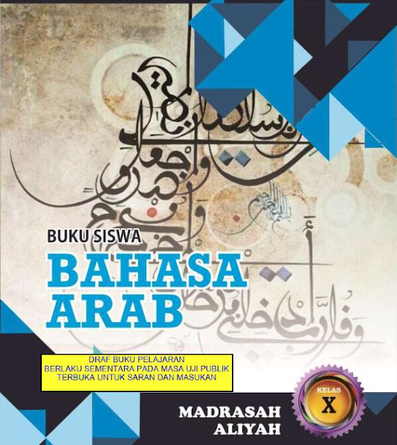 Buku Bahasa Arab Untuk Siswa Kelas X Madrasah Aliyah