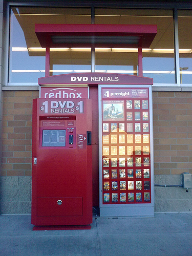 Truth be told, I've been watching the McDonald's-funded Redbox for a couple of years ever since they got onto my radar screen with their innovative kiosk DVD rental systems (see my early article Redbox is the next step in DVD rentals.