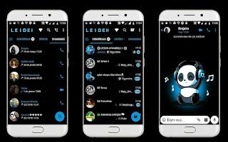Panda on Music Theme For YOWhatsApp & Fouad WhatsApp By Leidiane