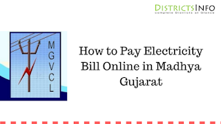 How to Pay Electricity Bill Online in Madhya Gujarat