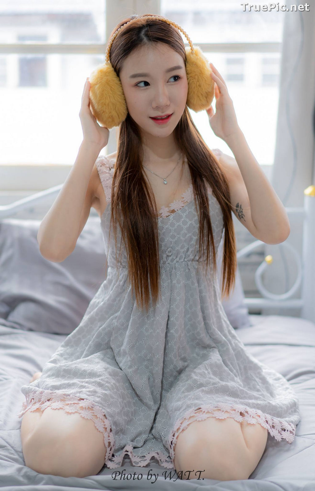 Image Thailand Cute Model - Carolis Mok - Morning Cutie Girl - TruePic.net - Picture-5