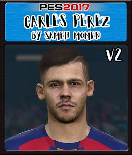 PES 2017 Faces Carlos Perez by Sameh Momen