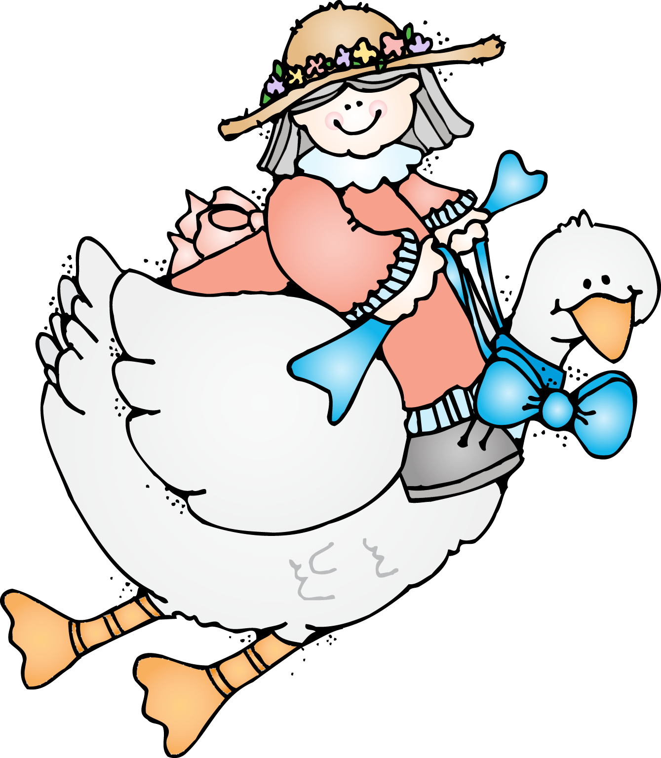 First Grade A La Carte Mother Goose Is On The Loose