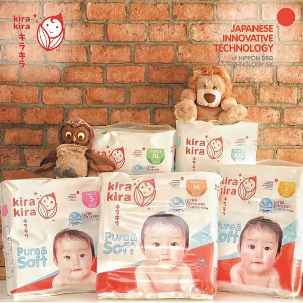 KIRA KIRA BABY CARE 'Produk Berkualiti Melalui Kesederhanaan' kini di Malaysia.