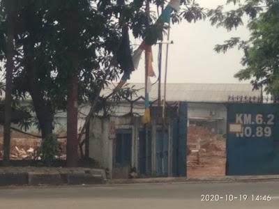 Diduga, Bangunan Pasar Induk di Jatiuwung Tidak Memiliki Izin Mendirikan Bangunan, Foto Istimewa Korantangsel.com