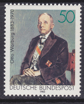 Germany 1983 Otto Warburg Pioneer of Modern Biochemistry Nobel Prize