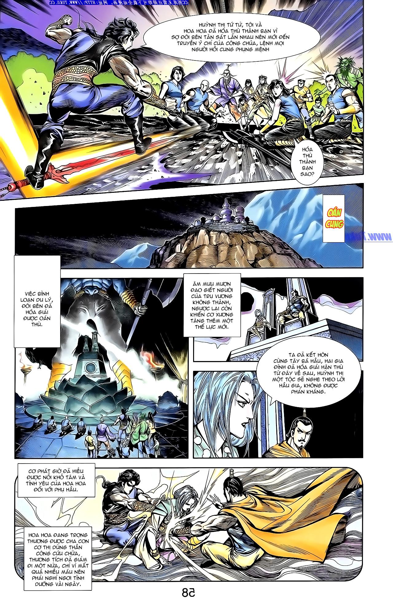 Cơ Phát Khai Chu Bản chapter 144 trang 15