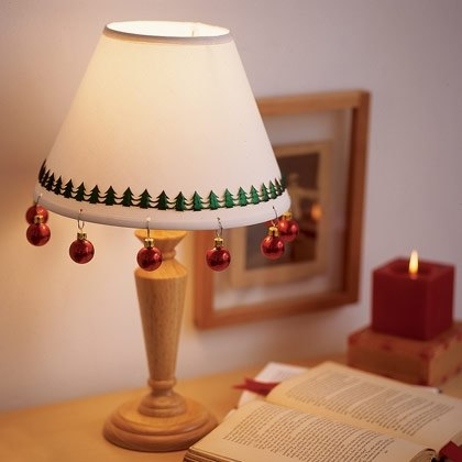 Holly, Jolly Lampshade