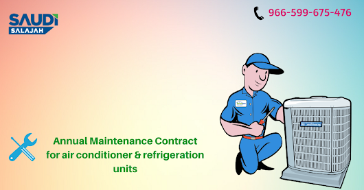 Annual maintenance contract in Riyadh