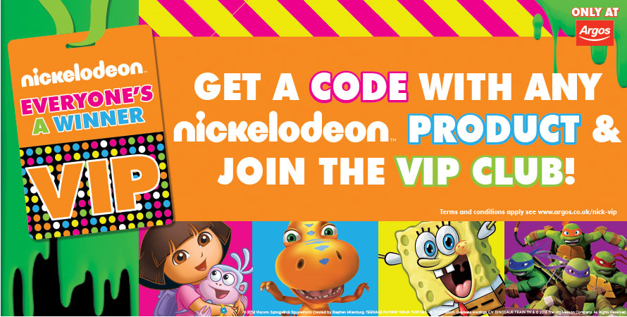 NickALive!: Nickelodeon UK And Argos Launch Everyone's A