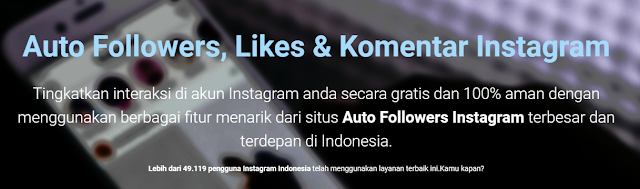 Aplikasi penambah like instagram tanpa koin
