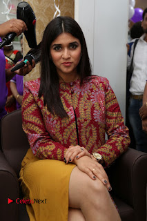 Actress Mannara Chopra Pictures at Natural Salon Launch 0052