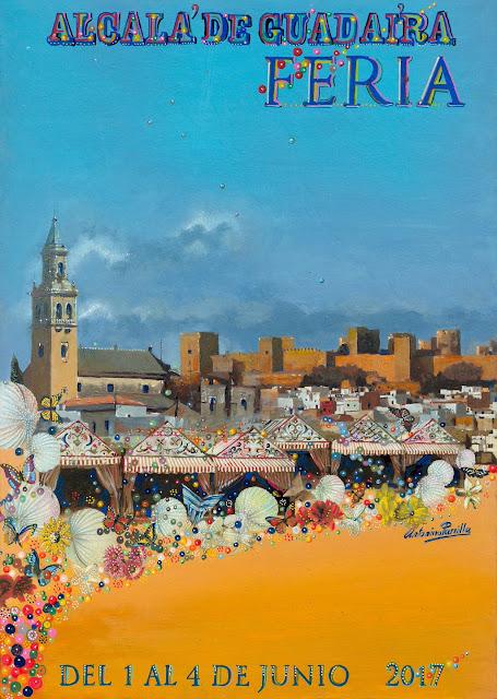 Cartel de la Feria 2017 de Alcalá de Guadaíra
