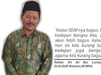 Dilaksanakan Program KKN, Rektor IAI An Nur Lampung Berpesan untuk Peningkatan SDM