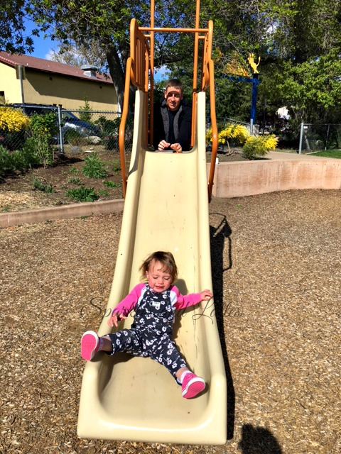 toddler fun at the park