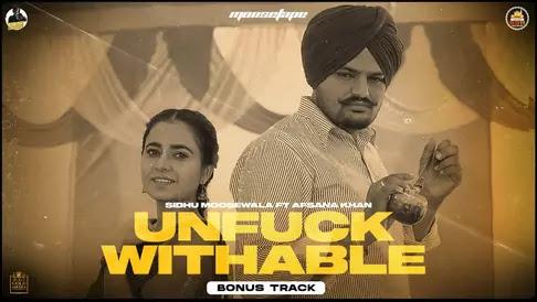 Unfuckwithable Lyrics Sidhu Moose Wala