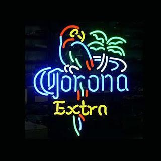 "17""x14"" Corona Extra Parrot Neon Light Sign Beer Bar Pub Club Store Display"