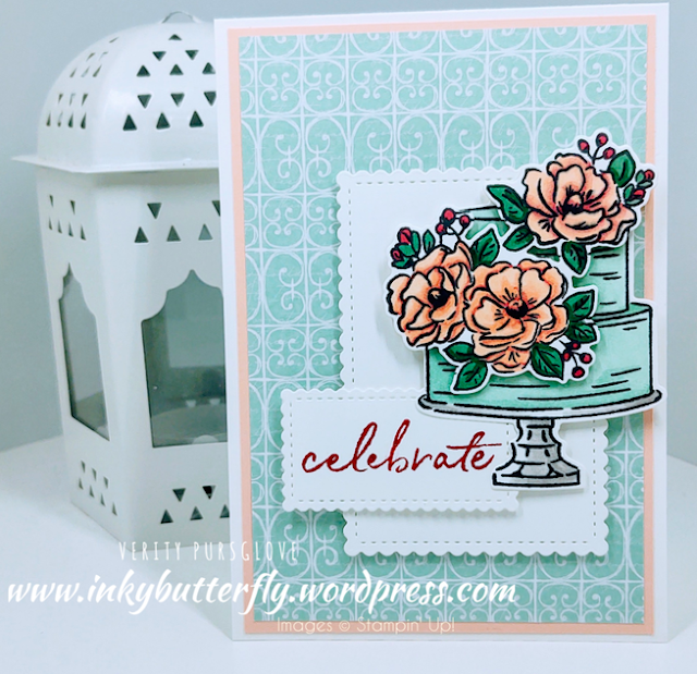 Nigezza Creates with Stampin' Up! & Inky Butterfly & Happy Birthday To You