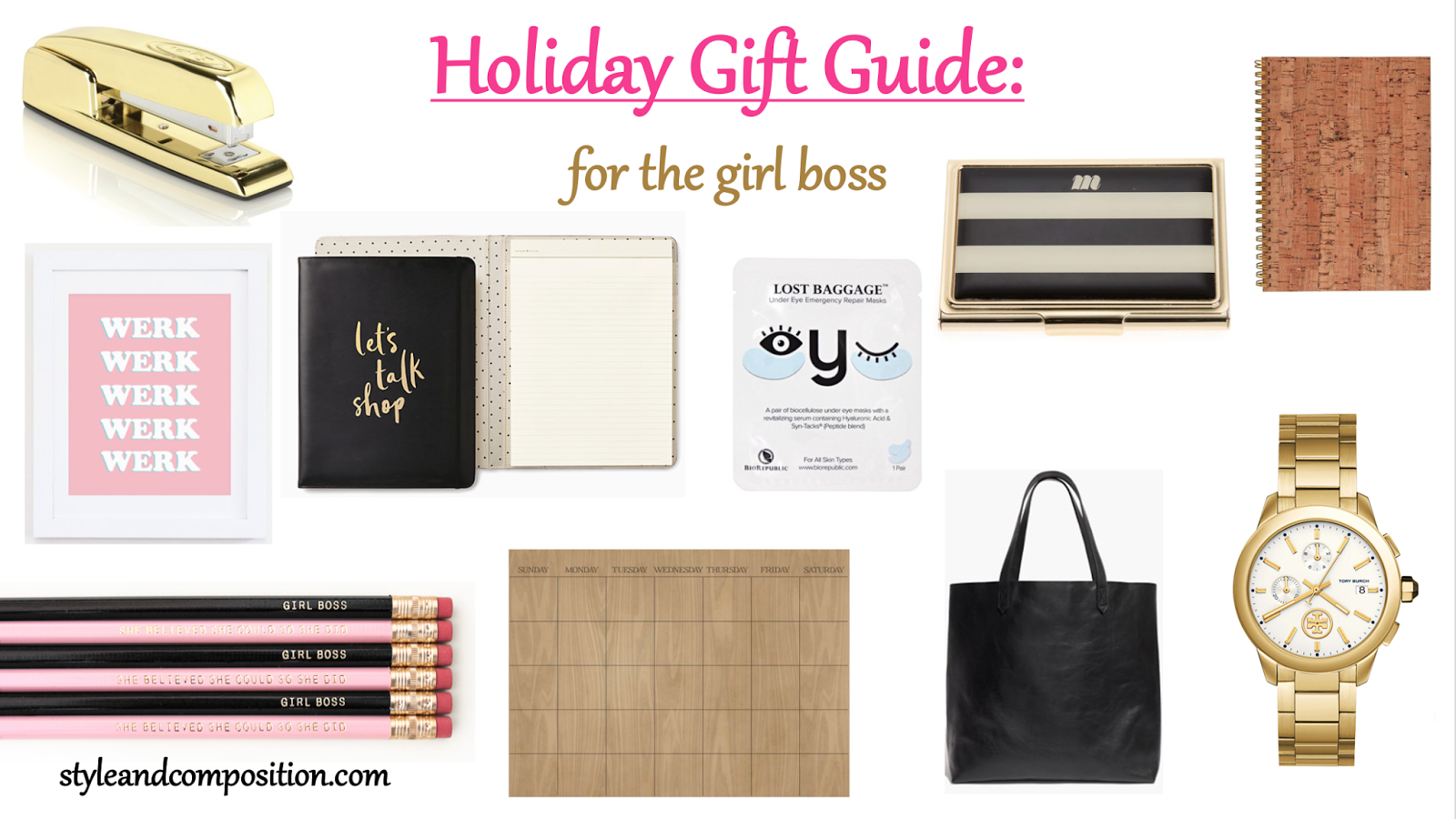Style & Composition: Christmas Gift Guide #2: Girl Boss