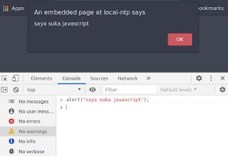 cara belajar javascript paling dasar