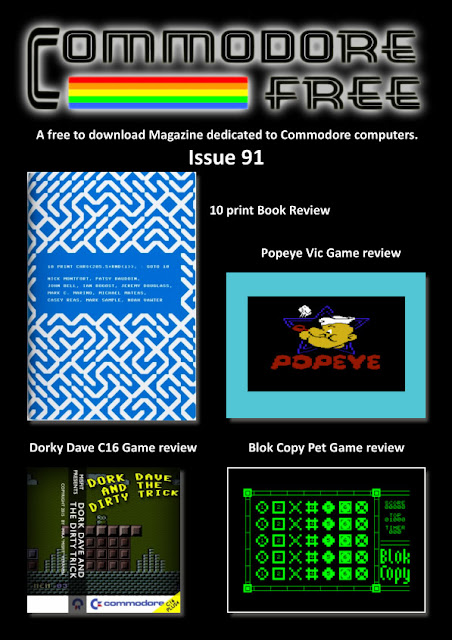 Commodore Free Magazine Issue 91 - 2016