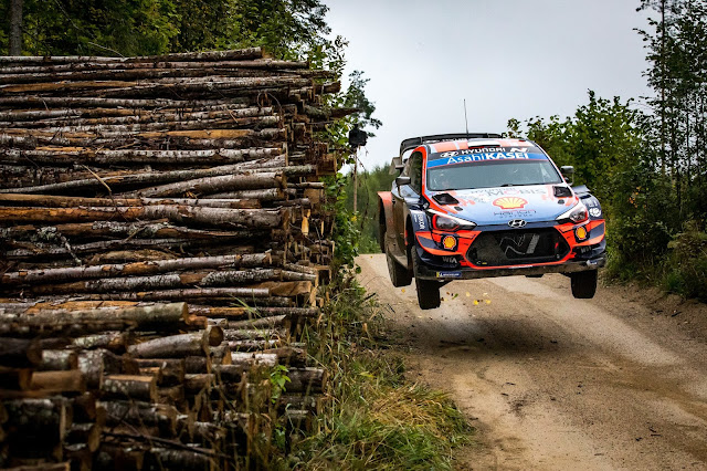 Ott Tanak winning Rally Estonia