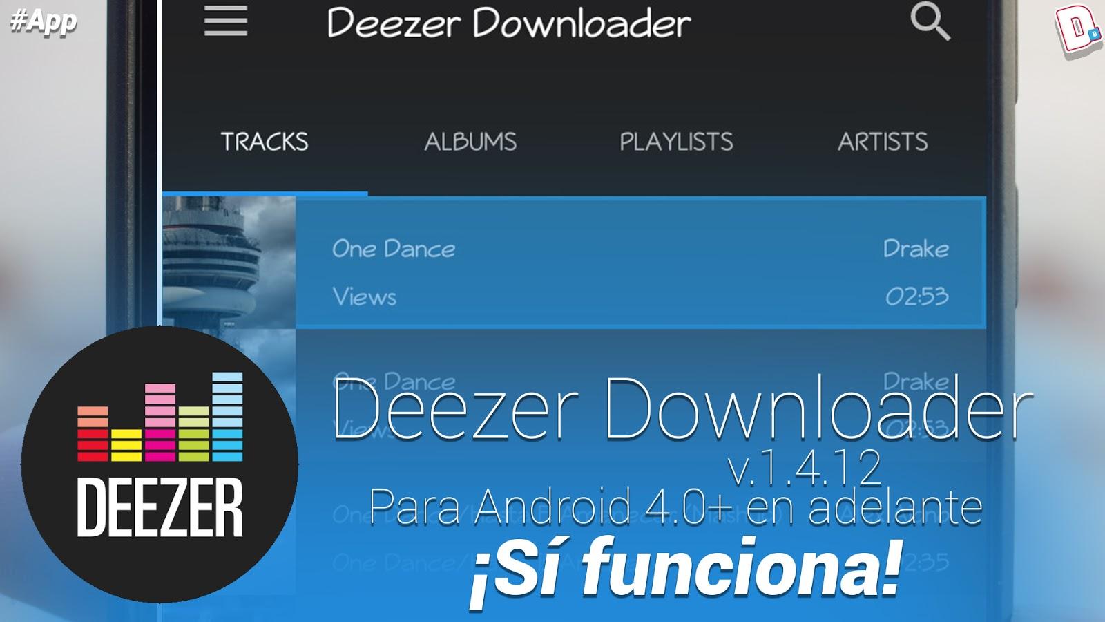 deezer downloader android app