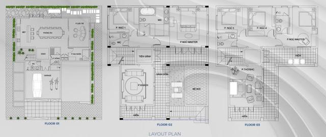 Mở bán biệt thự dự án Sunshine Heritage Resort Xuân Phú Phúc Thọ Hà Nội