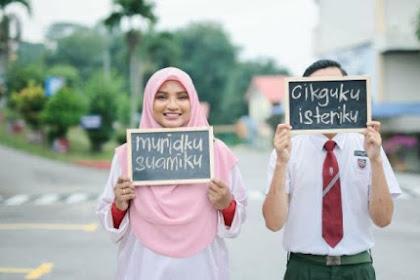 """""""Muridku Suamiku"""", Viral Kisah Murid Jatuh Cinta dan Menikahi Bu Gurunya"""