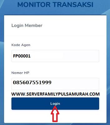 cara login di web report family pulsa