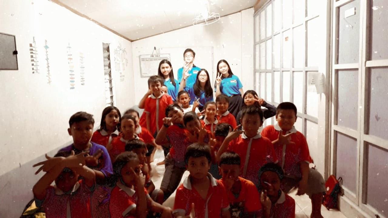 OSIS SMP Kalam Kudus Kunjungi PPA, Ajarkan Bahasa Inggris