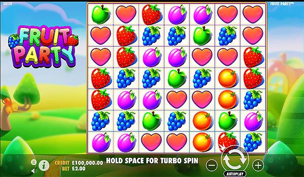 Main Gratis Slot Indonesia - Fruit Party (Pragmatic Play)
