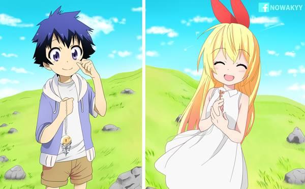 raku x chitoge Pasangan Terbaik di Anime Paling Romantis