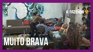 A Fazenda 12 – Peões perdem o controle – Biel repreende Juliano – íntegra da votação desta terça-feira (29/09/20)