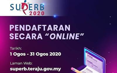 Permohonan SUPERB TERAJU 2020 Online (Semakan Status)