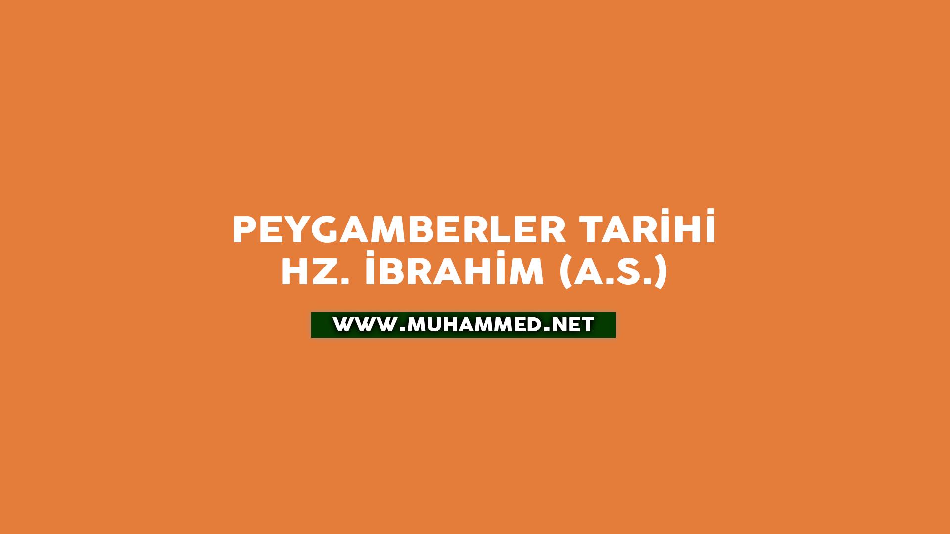 Hz. İbrahim (a.s.)