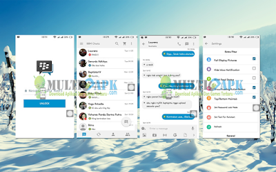 BBM Mod iOS Light v8 v2.13.0.26 APK