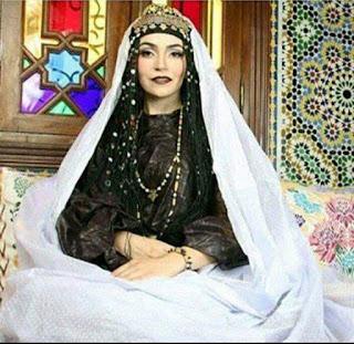 اللباس المغربي الصحراوي