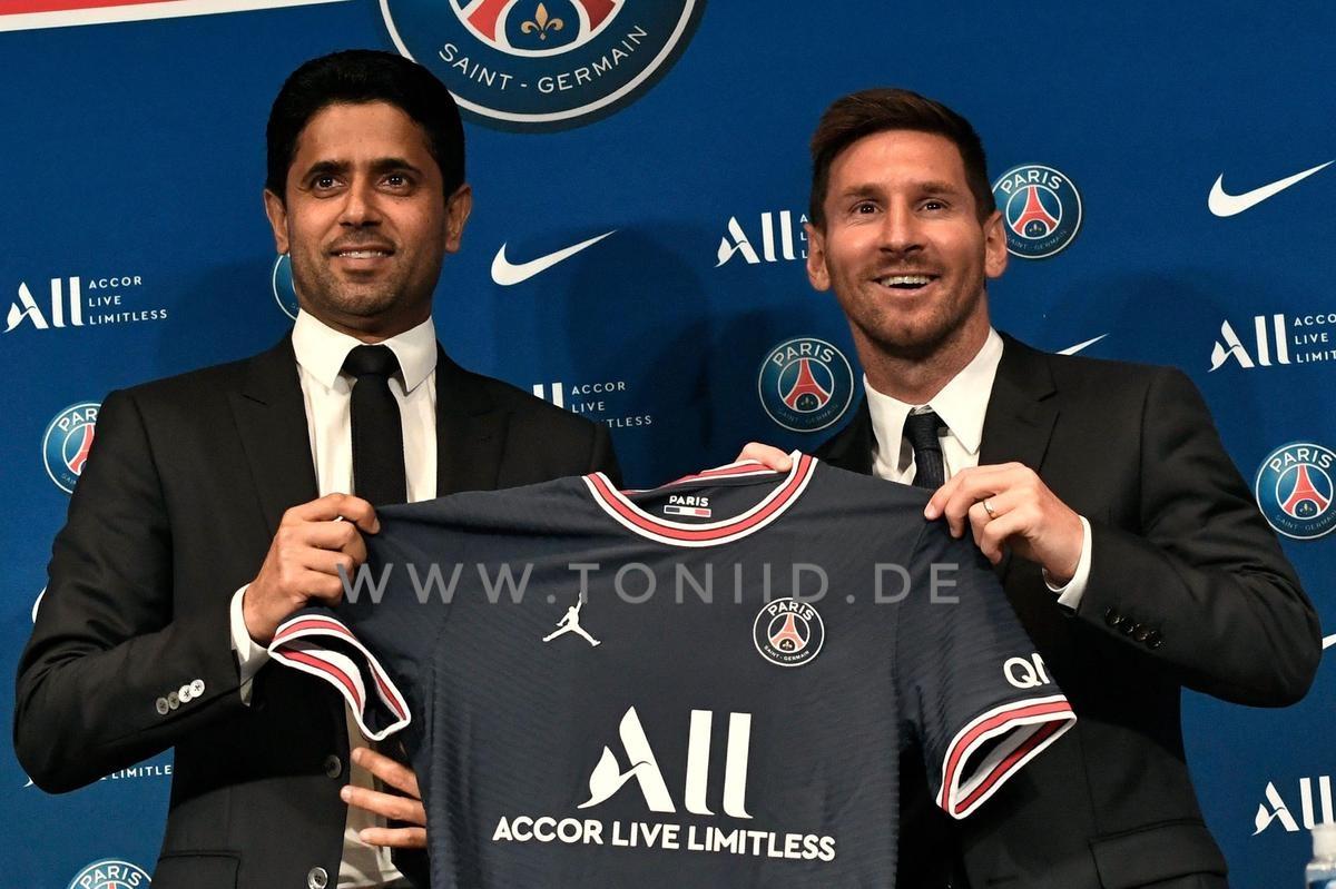 Nasser Al-Khelaifi tidak hanya memasukkan euro dalam kontrak Lionel Messi. Cryptosactives dari PSG juga merupakan bagian dari persamaan.