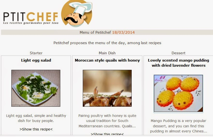 petitchef features cute lavender mango pudding recipe