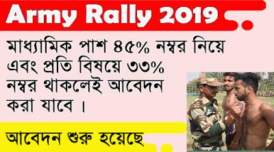 Army Rally West Bengal 2019 | Army Rally Siliguri 2019