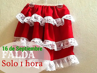 Falda Mexicana