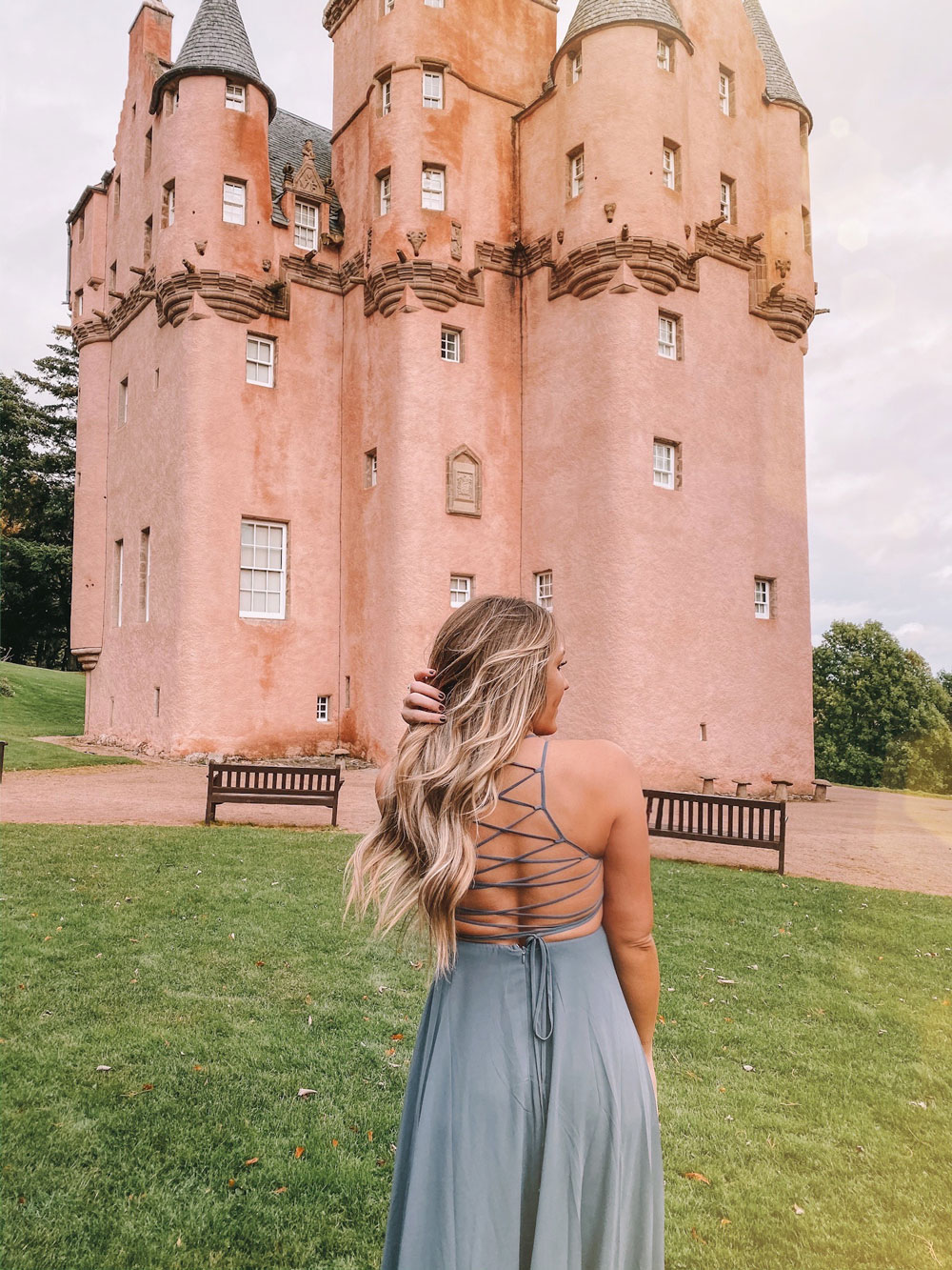 Travel blogger Amanda's OK visits castles in Scotland