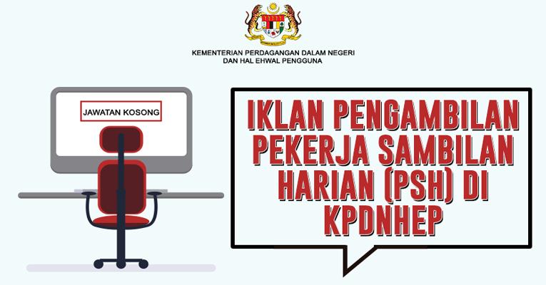 Jawatan Kosong di Kementerian Perdagangan Dalam Negeri Dan Hal Ehwal Penguna KPDNHEP